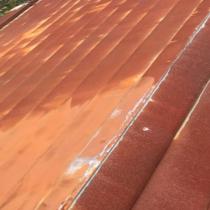 修善前の屋根の写真