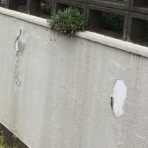 修善前の外壁の写真2